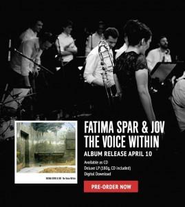 Fatima Spar Album Release